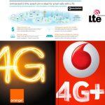 Los operadores ORANGE y VODAFONE prometen velocidades en LTE de vértigo con LTE-A y LTE-U.