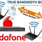 Vodafone intentará combinar 4G con la conexión DSL o fibra de casa.
