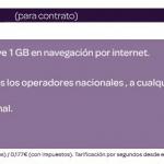 Carrefour mejora sus tarifas con 6,9e 1GB+1ct/min.