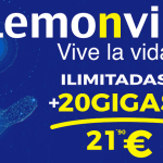 LEMONVIL lanza promocionalmente hasta 40GB por 21€