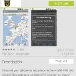 FakeGPS, una forma de engañar en el posicionamiento en los móviles Android. ¡Ojo!