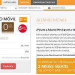 ADAMO ofrecerá telefonía móvil con MASMOVIL con el mejor bono del mercado 5€ 1GB con reducción de velocidad.