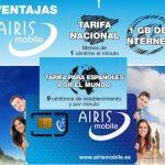 Airis Mobile se lanza al mercado con una tarifa de 0,8ct/min sin cobrar exceso y sin servicio de roaming internacional.
