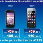 Airis subvenciona sus móviles de marca a cambio de ser de su OMV.
