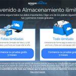 AMAZON se convierte en la mejor nube ilimitada del mercado: 60$/año reduciendo sus precios en España.