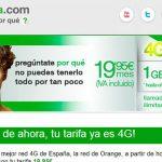 AMENA ha decidido ofrecer su tarifa ilimitada con 500MB y 1GB hasta Septiembre con 4G. Añade 60 minutos por voz IP con Libon.