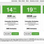 AMENA mejora sus tarifas este verano: 50GB por 24,95€