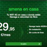 AMENA en casa lanza un bono de 10GB extra por 9,95€ sin limites