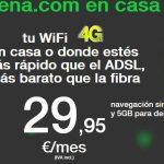 Amena rebaja algunas de sus tarifas algo menos de un euro a costa de reducir el tráfico 4G a la mitad de su conexión en casa.