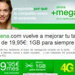 AMENA hace definitivas sus tarifas de verano: Ilimitada con 4G y 1GB por 19,95€ con IVA.