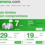 Amena hace ilimitadas sus tarifas de 19 y 29€ para callar las criticas de ilimitadas.