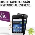 Zte Kiss: El móvil con Android 4 más low cost pero con poca memoria interna.
