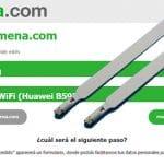 Las antenas pueden mejorar la cobertura de los routers: Demostración con router ofrecido por Spunky 4G. (red Movistar)