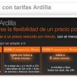 Nueva tarifa Ardilla 8 de Orange: Una tarifa contra las OMV