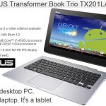 Netbook con 2 sistemas operativos: ¿Triunfará en el mercado? ASUS TX201LA