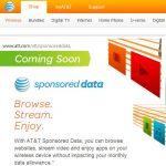 La tecnología Sponsored Data de AT&T en USA podría llegar en España. Navega en mi web gratis sin contabilizar en tus datos.