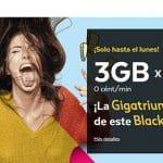 TUENTI lanza su Blackfriday 3GB por 7€ durante 3 meses.