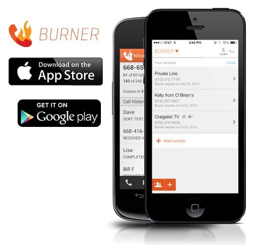 burning app