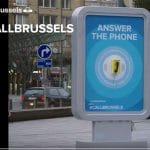 CallBrusells, una campaña de publicidad muy original.