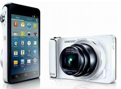 Samsung lanza su primera cámara digital con Wifi y Android ...