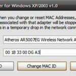 Cambiar la MAC y los datos del browsers: Una forma de conseguir internet gratis en hotspot con tiempo máximo.