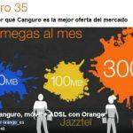 Orange mejora sus ofertas Canguro para clientes indirectos por tan solo 5€/mes adicionales.