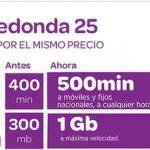 Carrefour mejora su tarifa Redonda para competir con la tarifa de MASMOVIL Optima.