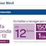 Carrefour saca una tarifa de 12€ con 150 minutos y 1GB de Internet