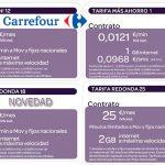CARREFOUR lanza su tarifa REDONDA por 18€ con 1,5GB y 200 minutos al mes.