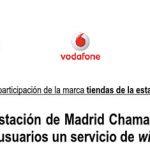 VODAFONE firma un acuerdo con ADIF: WIFI gratis en Chamartín y de pago.
