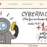 Cybermonday en Lowi: 1GB extra gratis para los usuarios que contraten hoy.