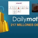 ORANGE vende DAILYMOTION al grupo francés VIVENDI dueño de Canal Plus en Francia en 265 millones de euros.