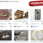 Dawanda engloba un montón de tiendas de fabricación casera de forma global como una alternativa profesional a las tiendas de Ebay.