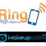 WakeUpcall y Ringmycellphone dos servicios curiosos en Internet.