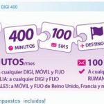 DIGI MOBIL saca una tarifa prepago con 400 minutos por 10€/mes impuestos incluidos.