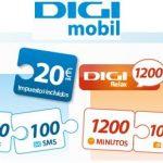 Digi Mobil saca tarifas de contrato con más minutos que la competencia pero menos tráfico de datos.