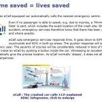 Ecall: Una iniciativa Europea para incluir SIM de móvil en el coche obligatoriamente para avisar de accidentes de forma inmediata.
