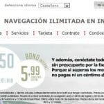 Eroski rompe el mercado en las tarifas de precio por minuto con 2,5 céntimos con un bono de internet SIN COBRAR EXCESO.