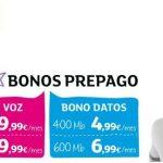 Eroski móvil mejora sus tarifas de los bonos prepago. DIGI MOBIL sigue ofreciendo más low cost.