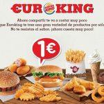 Burger King se apunta al Euro Ahorro para hacer la competencia a Mc Donalds. ¡Así me gusta!