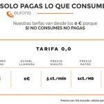 EURONA lanza su tarifa más simple sin establecimiento a 5 ct/min.