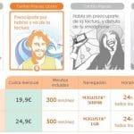 Euskaltel imita a ONO para impulsar su negocio de telefonía móvil.