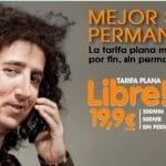 Euskaltel presenta su tarifa Libre con 300 minutos y 500MB de Internet por 19,9€/mes.
