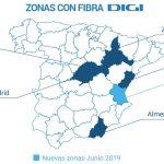 La fibra de DIGI llega por fín a Valencia: 30€ 500MB simétricos.