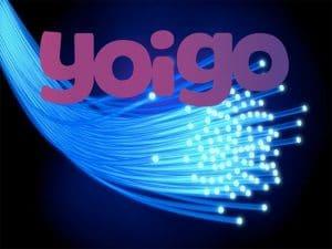 La fibra y móvil de YOIGO
