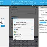 Echosign de Adobe permite firmar documentos en Android por 12€/mes.