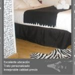 Un hostal en Madrid dirigido por mujeres y con estilo y bien situado. A mi me costo 45€ la habitacion doble a traves de hotels.com