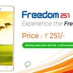 Freedom251 un móvil Android por menos de 5€ en la India.