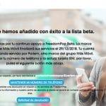 Freedompop cerrará en España el 29 de Diciembre de 2018
