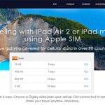 Apple SIM disponible en España a precios fuera de mercado.